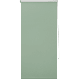 Штора рулонная Inspire Blackout, 80x160 см, цвет зелёный