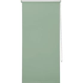 Штора рулонная Inspire Blackout, 100x160 см, цвет зелёный