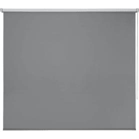 Штора рулонная Inspire Blackout, 140x175 см, цвет серый