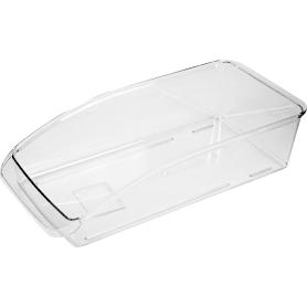 Органайзер для холодильника, 33x15x8 см, пластик, цвет прозрачный