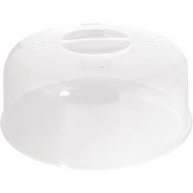 Крышка для СВЧ Ø248x110 мм цвет прозрачный
