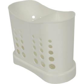 Сушилка для столовых приборов Stockholm 84x133x168 мм, цвет белый