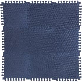 Пол мягкий «Треугольник», ЭВА, 33x33 см, цвет синий/фиолетовый