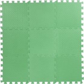 Пол мягкий, ЭВА, 33x33 см, цвет зелёный