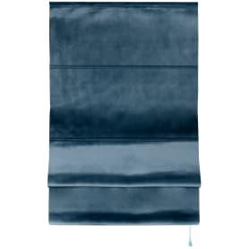 Штора римская «Милфид», 60x160 см, цвет синий