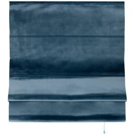 Штора римская Милфид 160x190 см цвет синий
