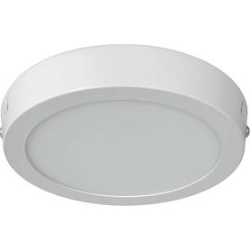 Светильник ЖКХ светодиодный Volpe 12 Вт IP40, накладной, цвет белый