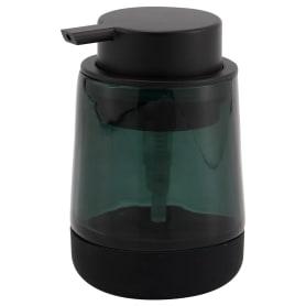 Дозатор для жидкого мыла Bonn Silicon цвет зелёный/чёрный