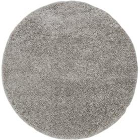 Ковёр «Шагги Тренд» L001 Ø1.5 м цвет серый
