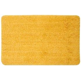 Коврик для ванной комнаты Lido 50x80 см цвет жёлтый