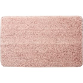 Коврик для ванной комнаты Lido 50x80 см цвет розовый