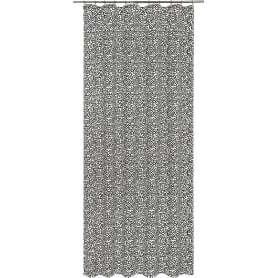 Штора на ленте Pop Art, 160x280 см, абстракция, цвет белый
