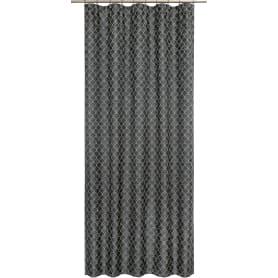 Штора на ленте «Мозаика», 160x280 см, геометрия, цвет чёрный