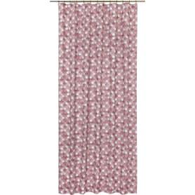 Штора на ленте «Мозаика», 160x280 см, геометрия, цвет розовый