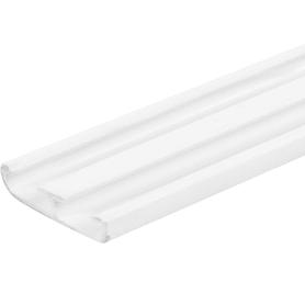 Нащельник 35 мм на клипсах, цвет белый, 3 м/уп.