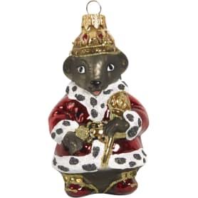 Украшение ёлочное «Крыса-царь»