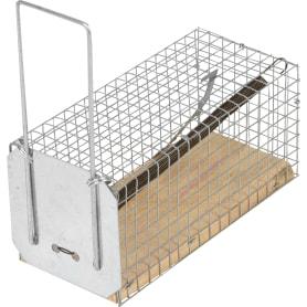 Мышеловка-клетка с деревянным дном
