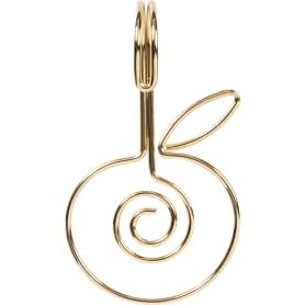 Кольца для шторы в ванную Fairytale цвет золотой 12 шт.