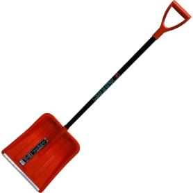 Лопата для уборки снега Фобос с планкой 40.5x40.5 см