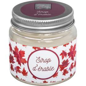 Свеча ароматизированная в банке «Кленовый сироп»