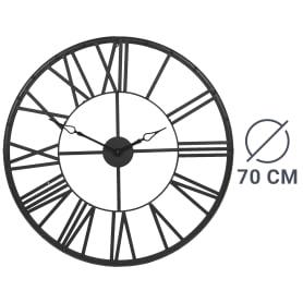 Часы настенные «Винтаж» цвет чёрный 70 см