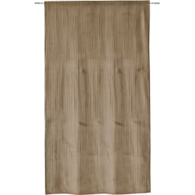 Штора на ленте Dhaulagiri 160x280 см однотон цвет серо-коричневый