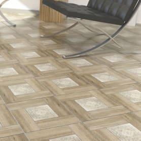 Плитка напольная Alma Ceramica «Ранчо» 41.8х41.8 см 1.92 м² цвет коричневый