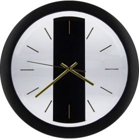Часы настенные «Черное золото» 28 см
