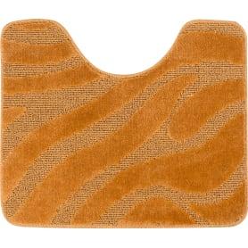 Коврик для туалета Lemis 50x60 см цвет оранжевый