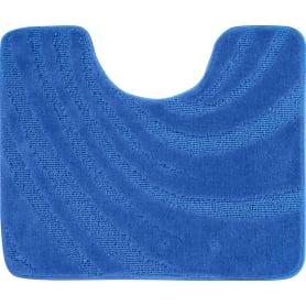 Коврик для туалета Lemis 50x60 см цвет голубой