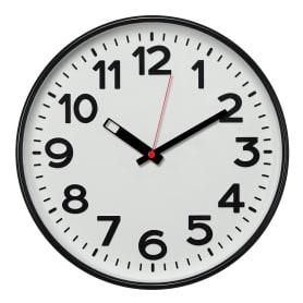 Часы настенные «Чёрно-белая классика», цвет чёрный/белый, диаметр 30 см
