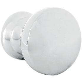 Ручка-кнопка мебельная K-2360, цвет хром