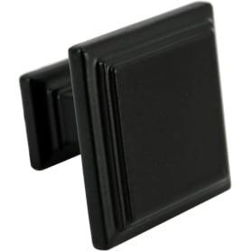 Ручка-скоба мебельная RK-105, цвет матовый черный