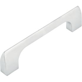Ручка-скоба мебельная R-3070 96 мм, цвет матовый хром