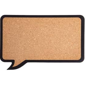 Доска пробковая «Сообщение», 6 кнопок, 44х29 см