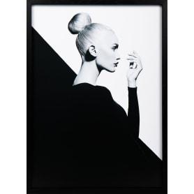 Картина в раме «Женщина в чёрном» 50x70 см