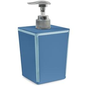 Диспенсер для жидкого мыла Spacy цвет голубой