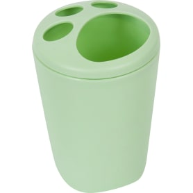 Стакан для зубных щеток Aqua цвет зеленый