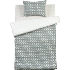 Комплект постельного белья «Сталь» полутораспальный поплин цвет серый