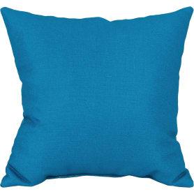 Подушка «Темара» 40х40 см цвет бирюза