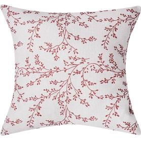 Подушка «Кенитра» 40х40 см цвет красный
