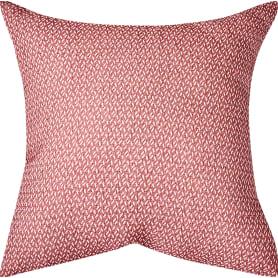 Подушка «Тифлет» 40х40 см цвет красный