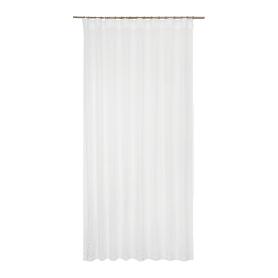 Тюль на ленте Telio 200x280 см цвет белый