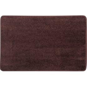 Коврик для ванной комнаты Presto 45x70 см цвет коричневый
