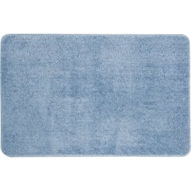 Коврик для ванной комнаты Presto 45x70 см цвет светло-синий