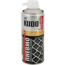 Пневмоочиститель для техники Kudo «Сжатый воздух» горючий 520 мл