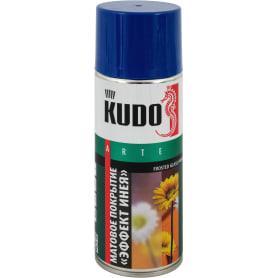 Покрытие аэрозольное Kudo для стекла цвет голубой 0.52 л