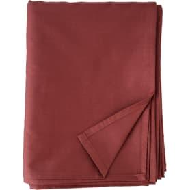 Простыня двуспальная Mona Liza Premium, 215x180 см, сатин, цвет терракотовый