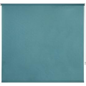 Штора рулонная Inspire «Шантунг», 140x175 см, цвет бирюзовый