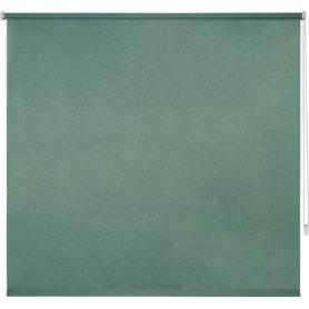 Штора рулонная Inspire «Шантунг», 140x175 см, цвет изумрудный